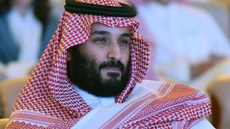 Saudi Crown Prince Mohammed bin Salman attends the Future Investment Initiative (FII) conference in Riyadh, on October 24, 2017. The Crown Prince pledged a 'moderate, open' Saudi Arabia, breaking with ultra-conservative clerics in favour of an image catering to foreign investors and Saudi youth.  'We are returning to what we were before -- a country of moderate Islam that is open to all religions and to the world,' he said at the economic forum in Riyadh.  / AFP PHOTO / FAYEZ NURELDINE        (Photo credit should read FAYEZ NURELDINE/AFP/Getty Images)