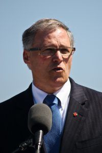 Washington Gov. Jay Inslee will attend the Bonn conference. Photo by Thomas Sorenes/Wikimedia