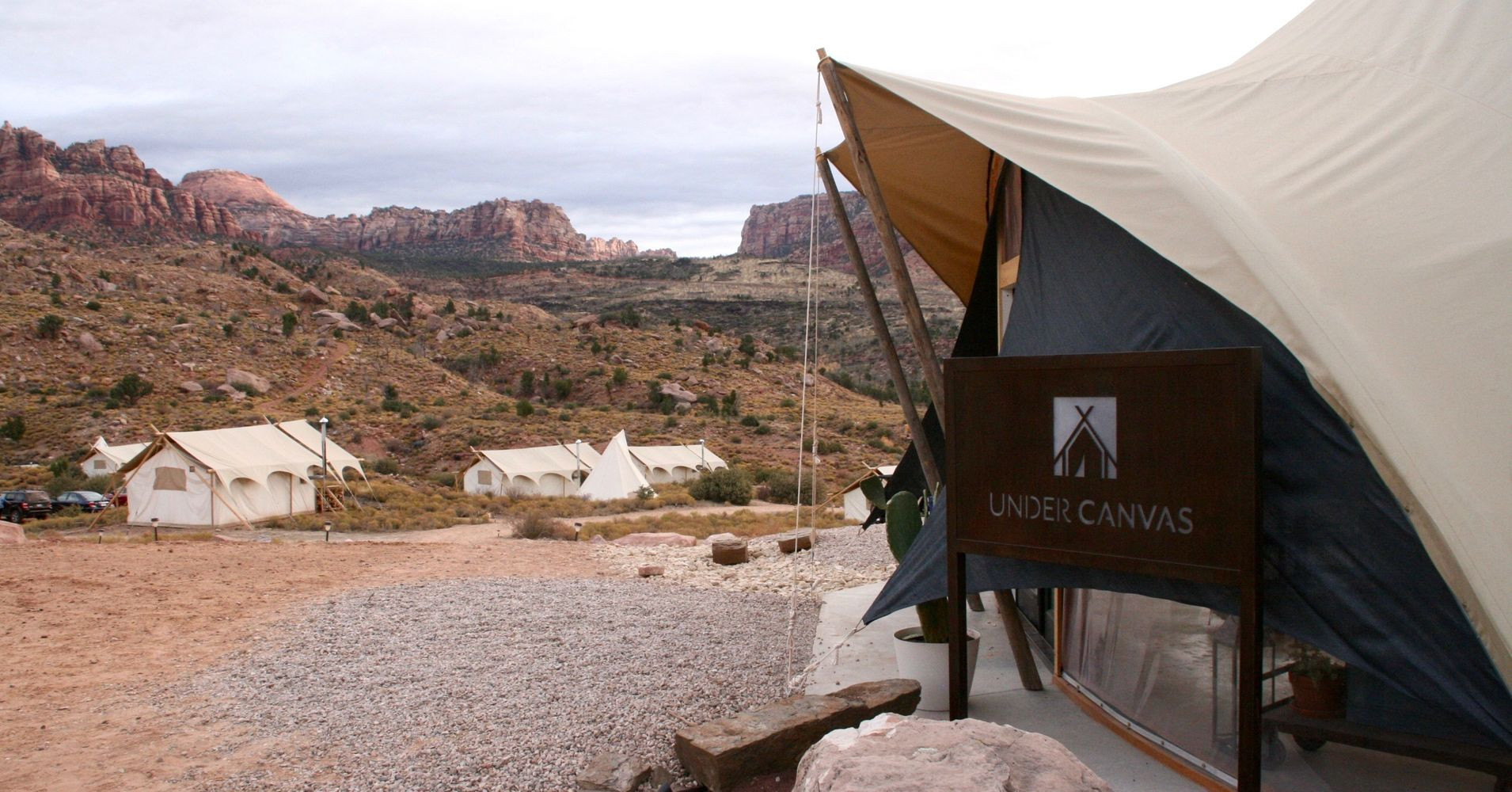 under canvas takes glamping to the next level in zion