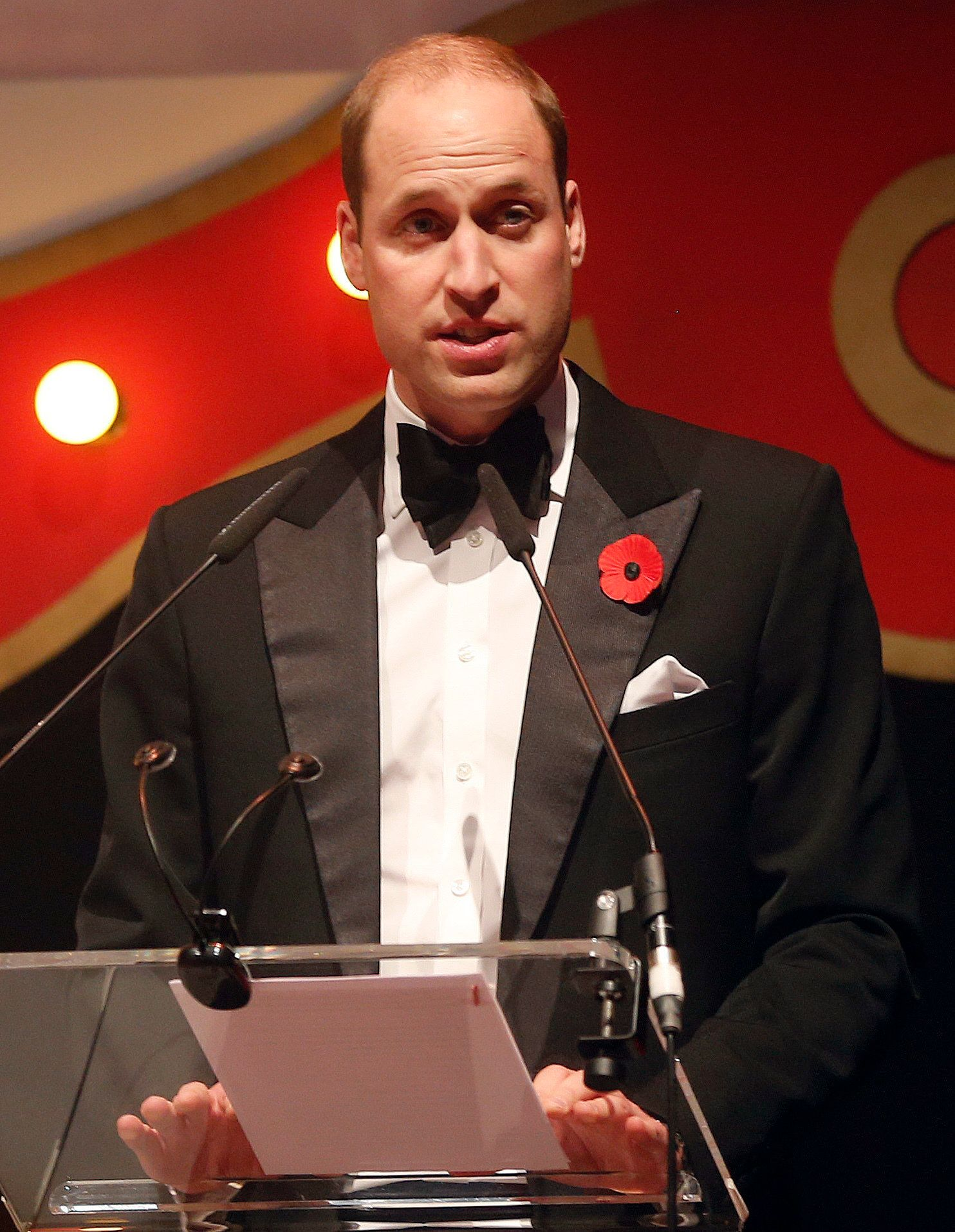 Prince William Warns Children Are Being 'Tested More Than