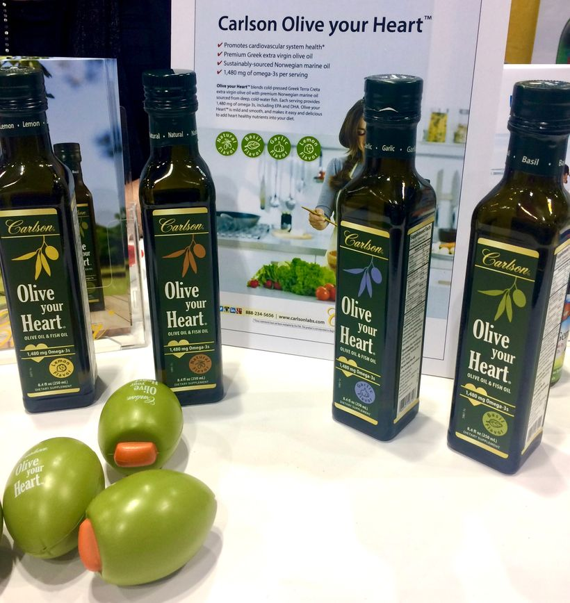Carlson Olive oil- Fish oil blend