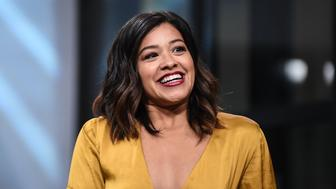 NEW YORK, NY - NOVEMBER 06:  Gina Rodriguez attends the Build Series to discuss the new film 'The Star' at Build Studio on November 6, 2017 in New York City.  (Photo by Daniel Zuchnik/WireImage)