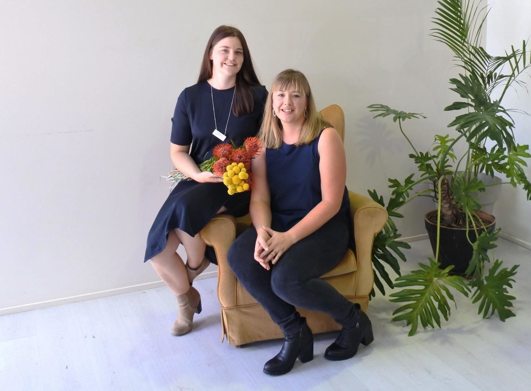 Tara Baker (L)andArlia Hassel, whoco-founded 'Dancing With Her'.
