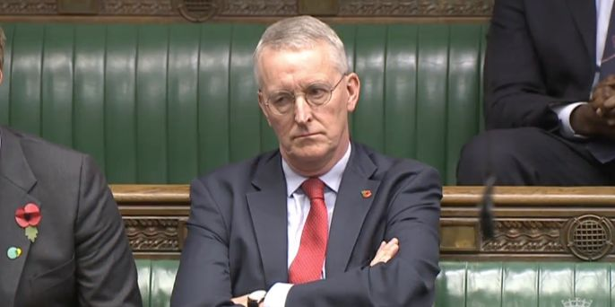 <i>Brexit Select Committee chairman Hilary Benn.</i>