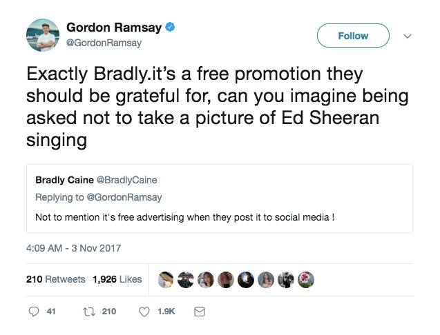 Gordon Ramsay Thinks It's 'Bloody Pompous' When Restaurants