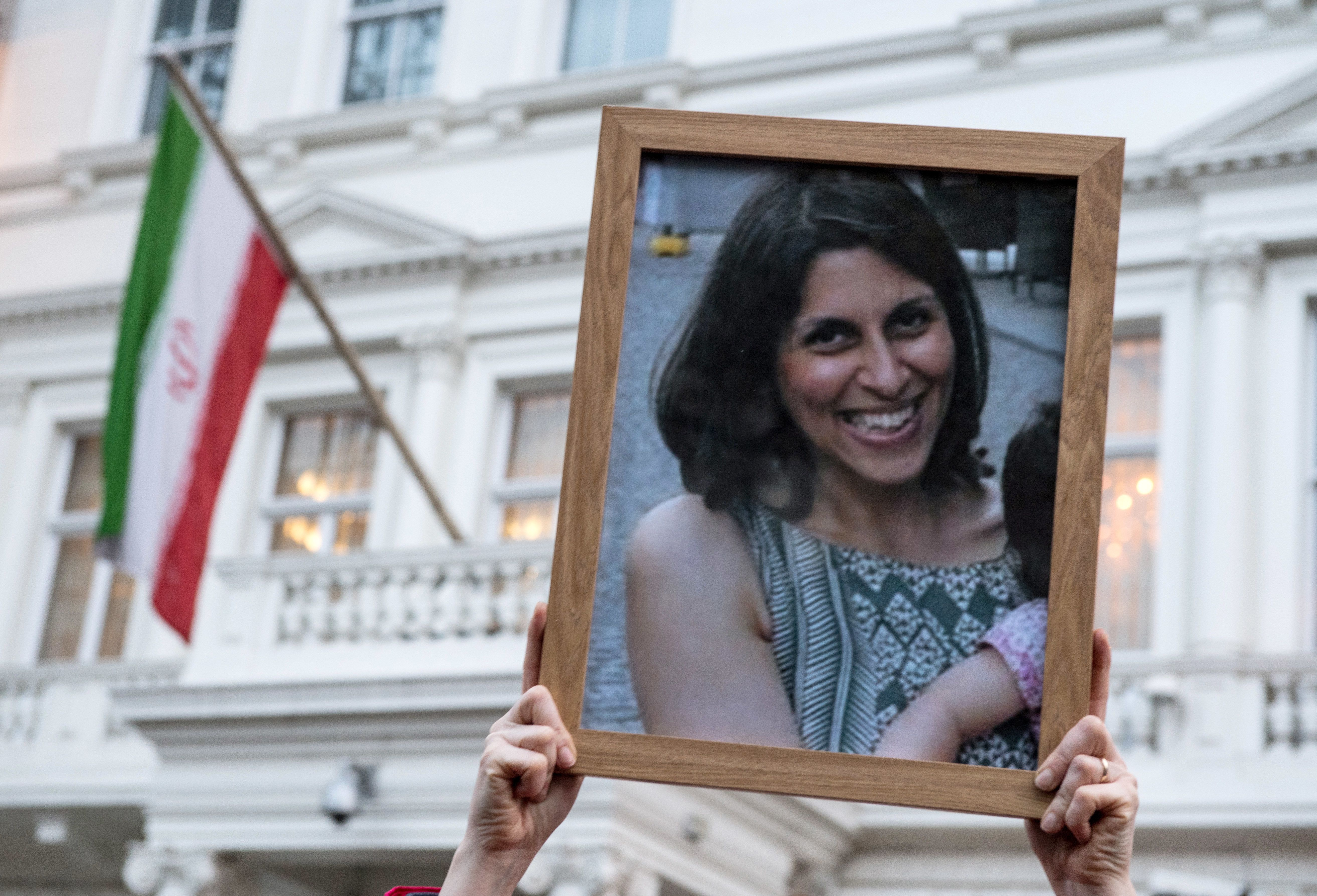 <strong>Zaghari-Ratcliffe&nbsp;has already been sentenced to five years in prison for 'propaganda against the regime'&nbsp;</strong>