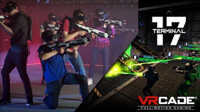 <em>In Terminal 17 from VR Studios, you are one of eight galactic marines clearing a bug infestation.</em>