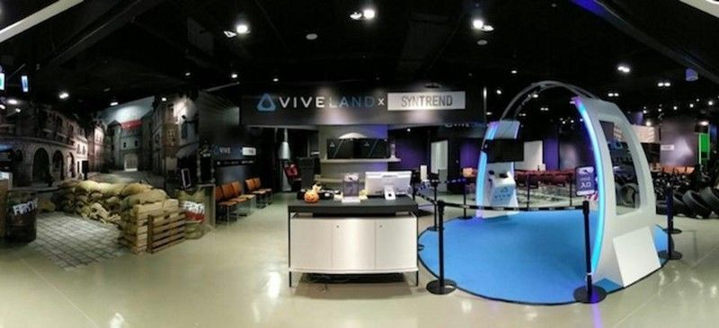 <em>Opened in October 2016, Viveland Taipei is a themed VRcade in a high tech shopping center. Weeks later, Vive opened anoth