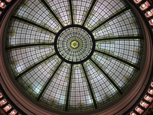 Cleveland Trust Company domed ceiling