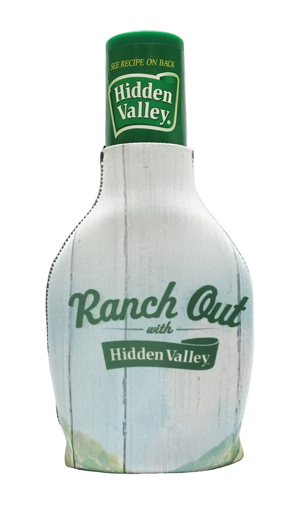 "Buy the <a href=""https://www.flavourgallery.com/collections/hidden-valley-ranch/products/hidden-valley-bottle-cozie"" target="""