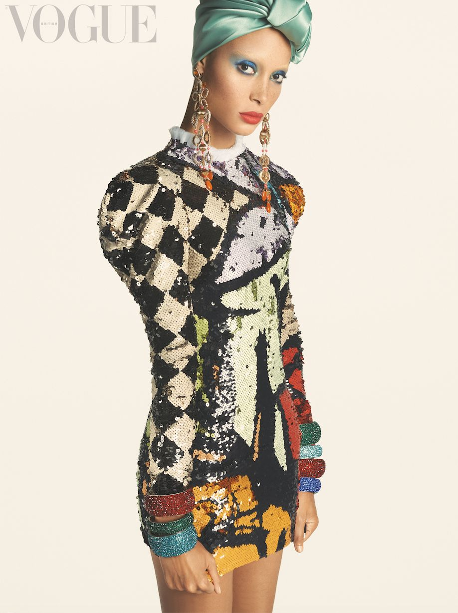 Adwoa Aboah Tells Edward Enninful's Vogue How She Defines Being Black And
