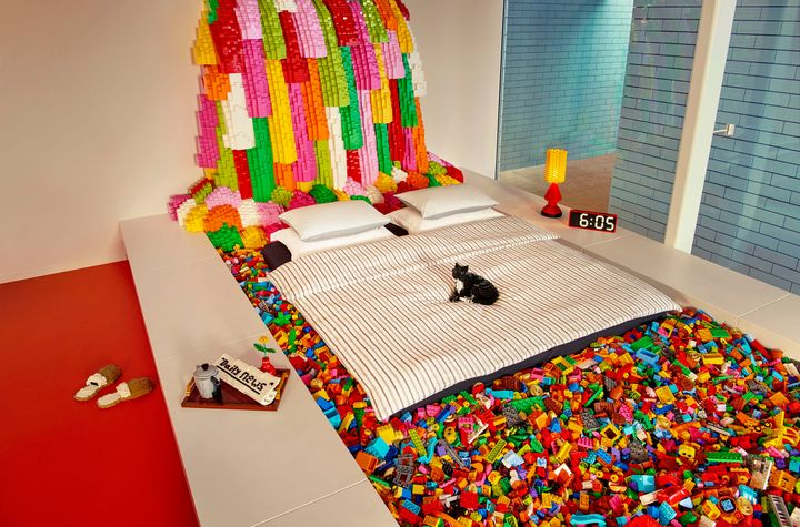 Lego House is a nearly 40,000 square foot structure filled with 25 million Lego bricks.