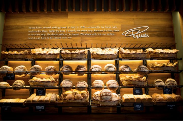 "The Princi name is <a href=""https://news.starbucks.com/press-releases/starbucks-brings-italian-princi-bakery-to-seattle-roastery"" target=""_blank"">known in Europe for fresh-baked breads</a>, according to Starbucks."