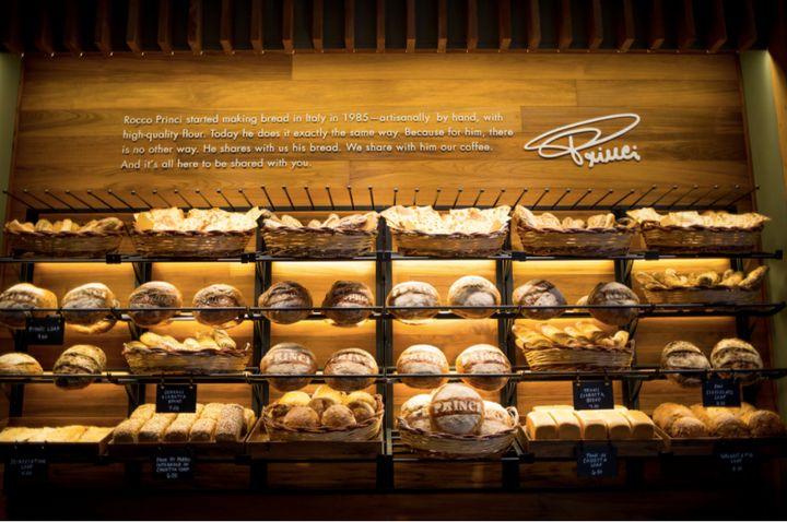"The Princi name is <a href=""https://news.starbucks.com/press-releases/starbucks-brings-italian-princi-bakery-to-seattle-roast"