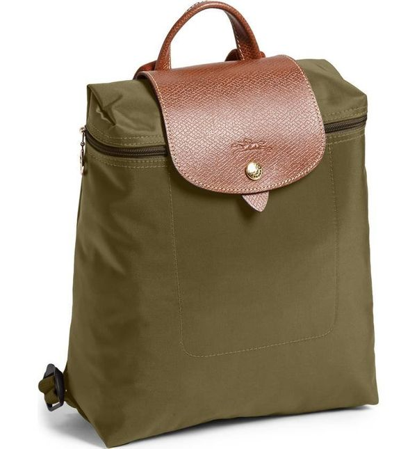 "This durable, water-resistant <a href=""https://shop.nordstrom.com/s/longchamp-le-pliage-backpack/3023122?origin=category-pers"