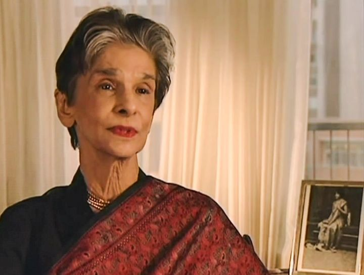 Dina Wadia appears in Akbar Ahmed's documentary film, <em>Mr. Jinnah: The Making of Pakistan</em>, in a rare interview she gr