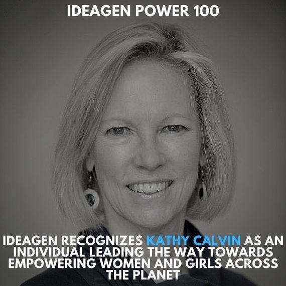 Kathy Calvin, UN Foundation CEO