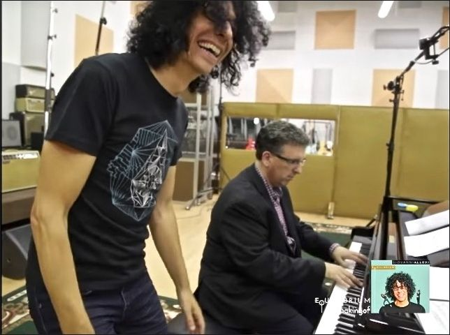 "In the Studio with <a rel=""nofollow"" href=""https://www.youtube.com/watch?v=I1XekXaMGCs"" target=""_blank"">Giovanni Allevi and J"