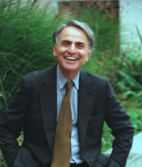Carl Sagan, December 1996