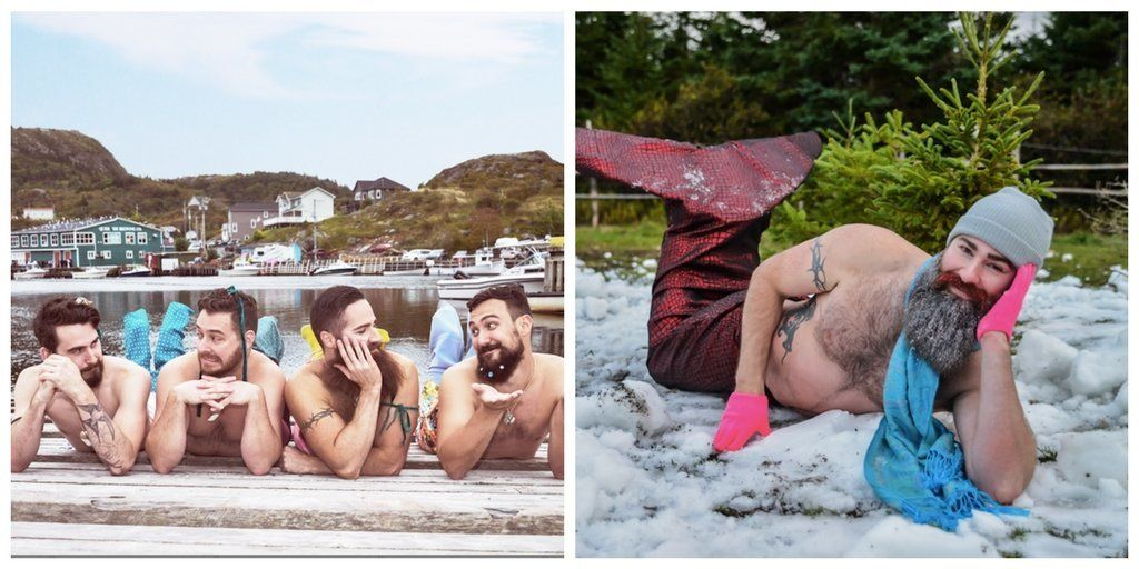 These Bearded Newfoundlanders Make The Most Delightful