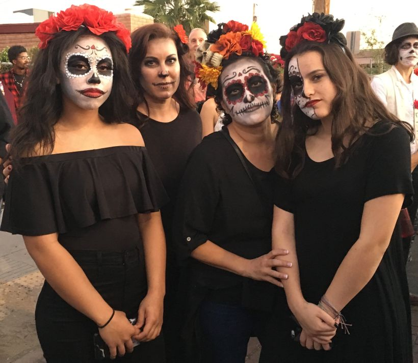 Women at All Souls Procession, 2017