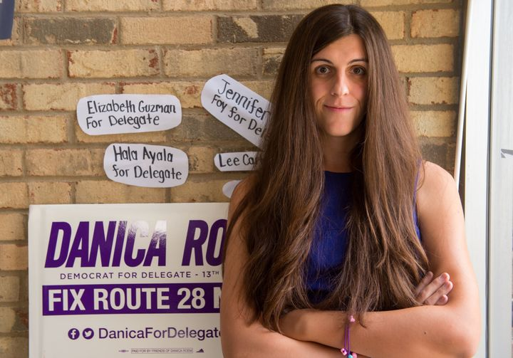 Danica Roem wins the Virginia delegate race.