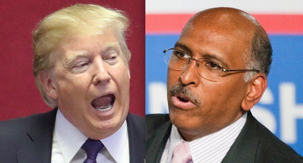 Donald Trump and Michael Steele