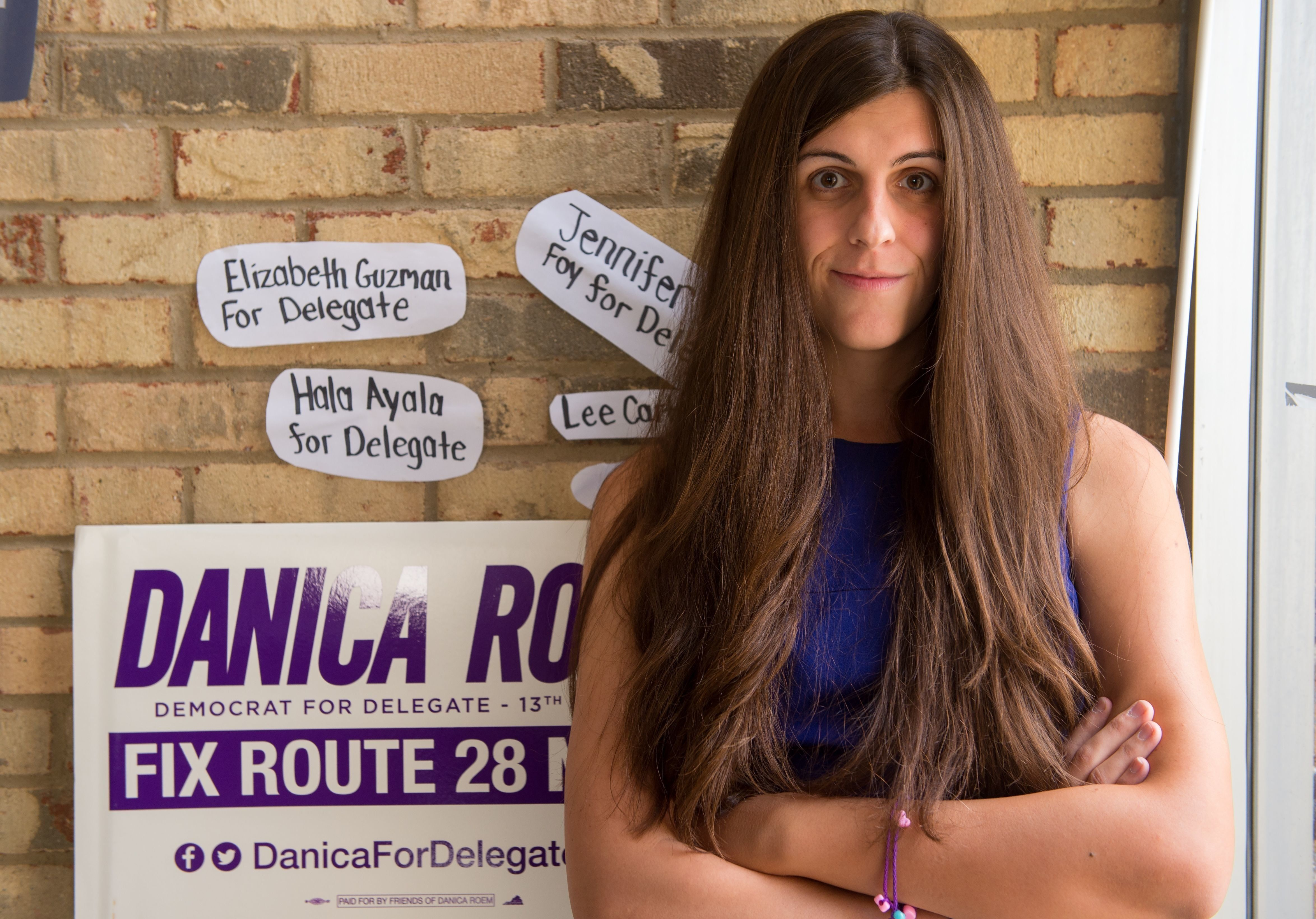 <strong>Danica Roem became Virginia's first openly transgender state lawmaker&nbsp;</strong>