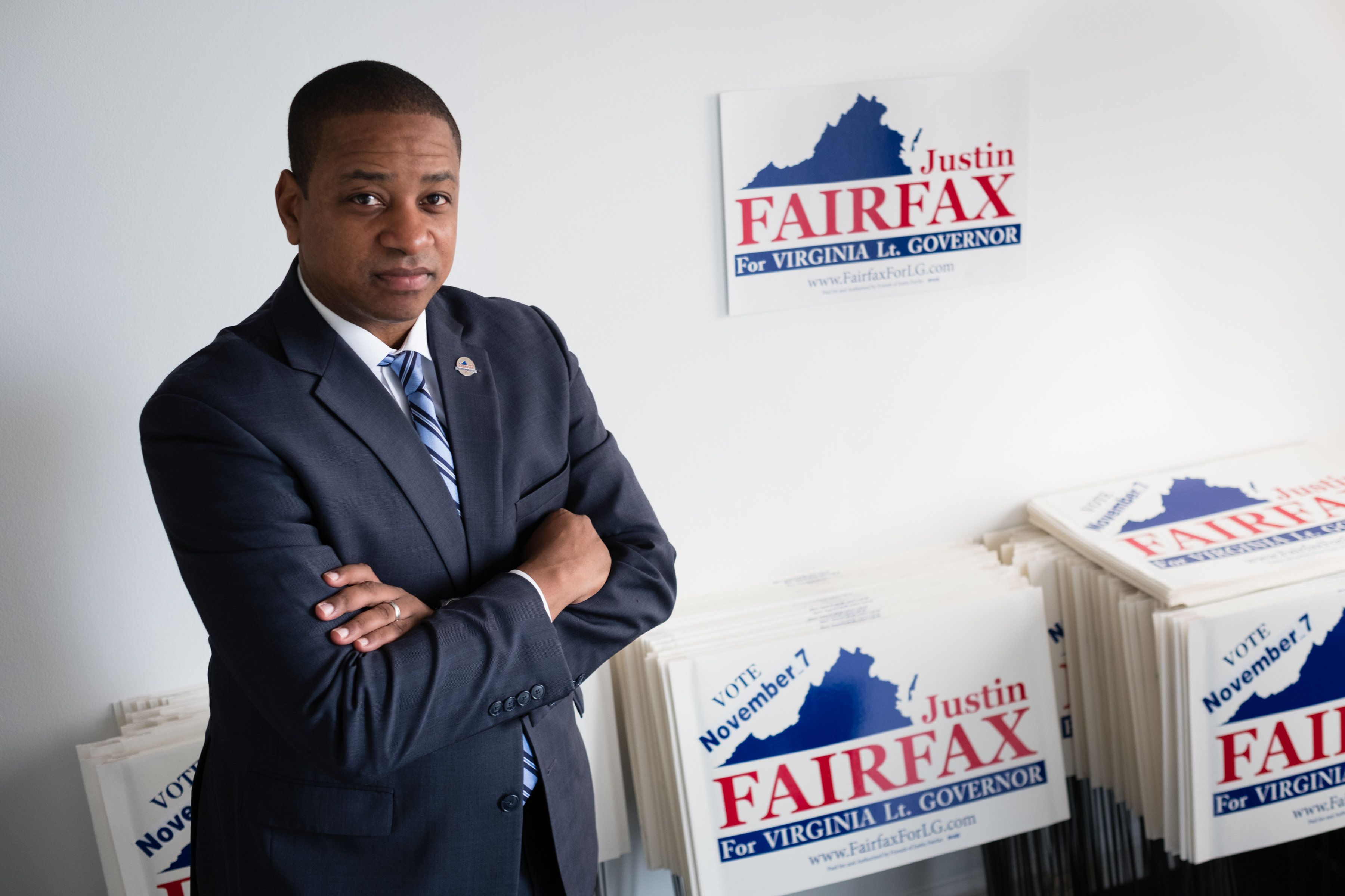 <strong>Democrat Justin Fairfax was elected to become Virginia&rsquo;s next lieutenant governor</strong>