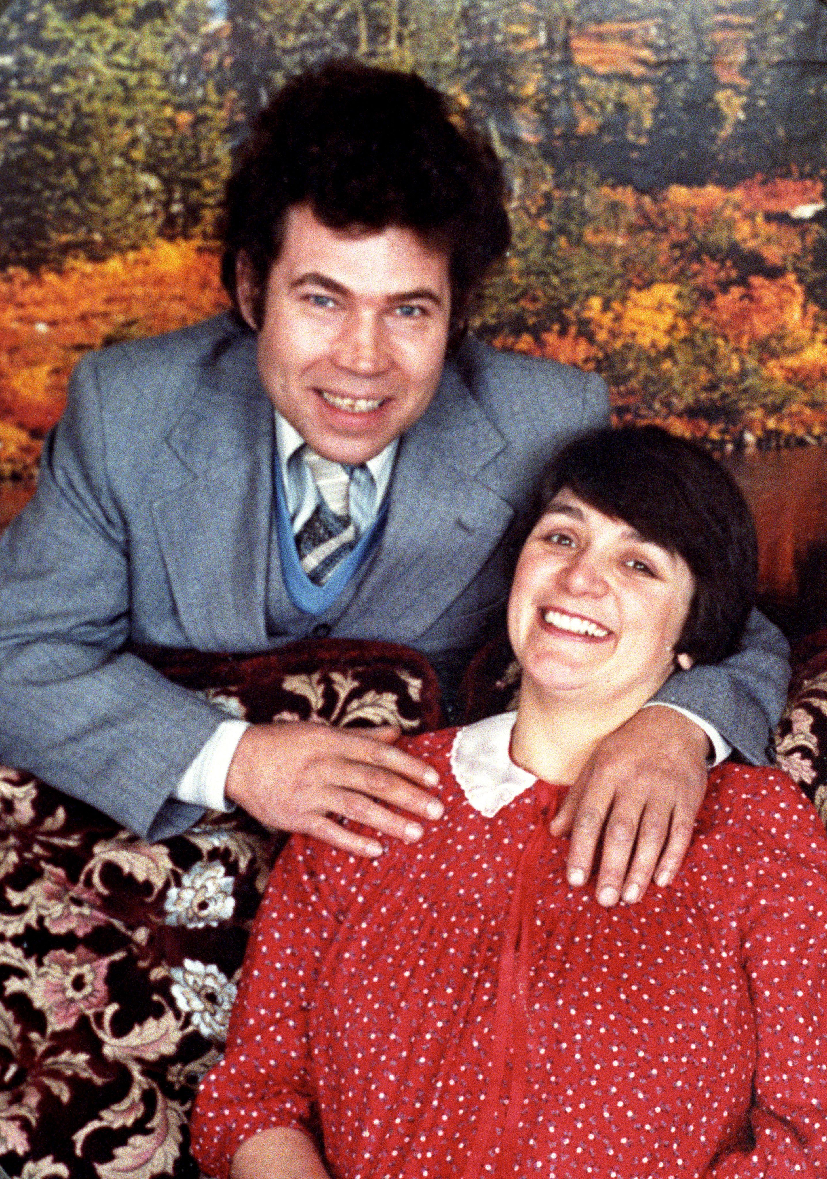 <strong>Serial killers Fred and Rose West </strong>