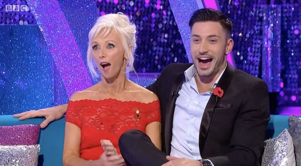 Debbie McGee Leaves 'It Takes Two' Crew Howling After Accidental Rude