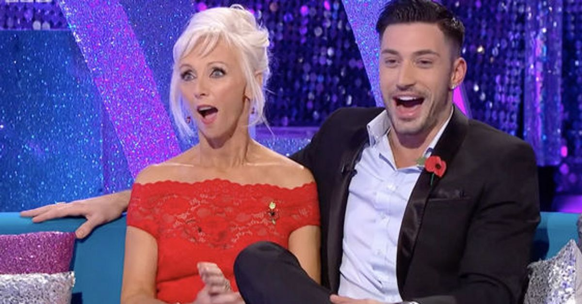 Strictly Come Dancing's Debbie McGee Can't Control Her
