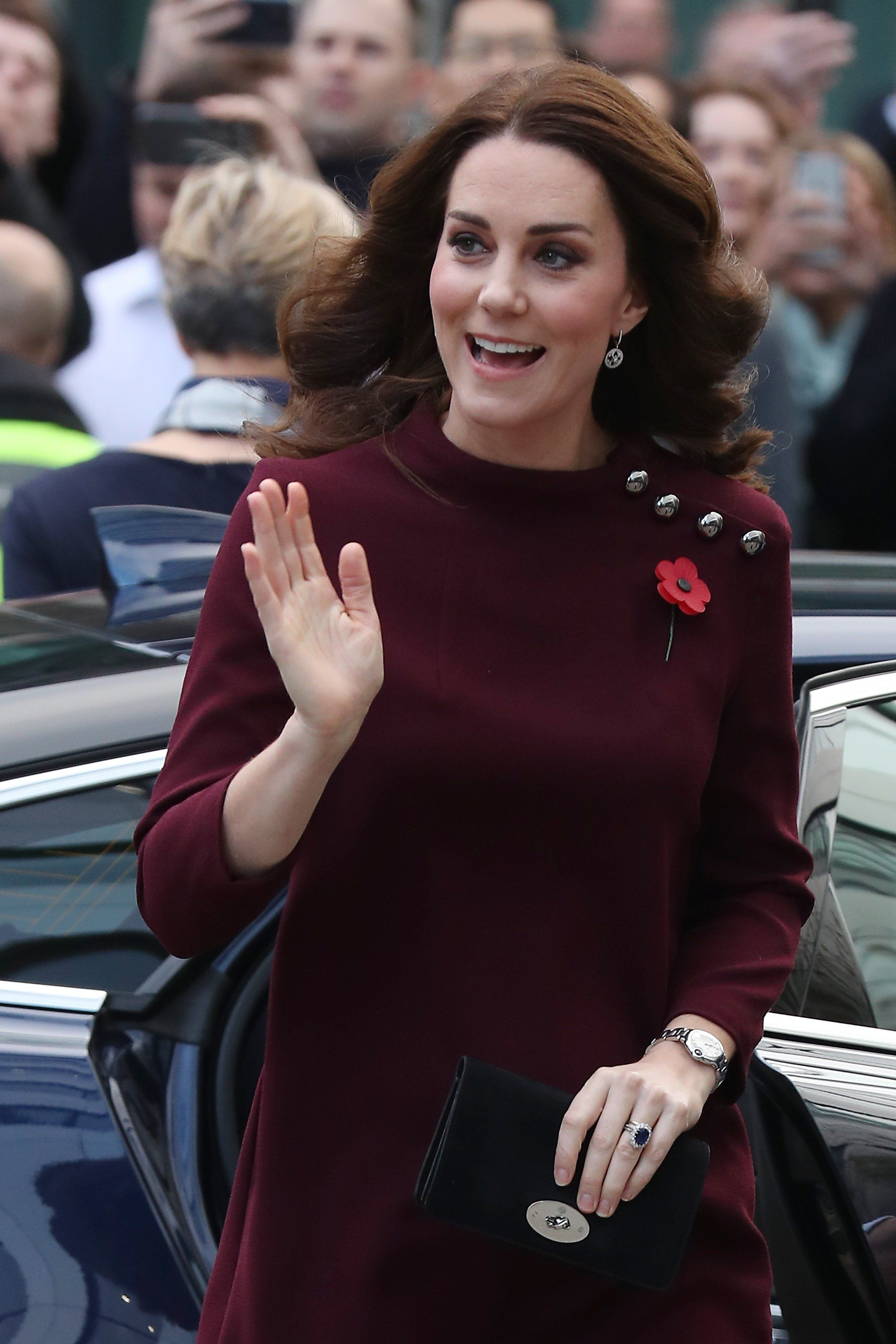 Duchess Of Cambridge Says She Is Still Getting Used To Leaving Prince George At The School