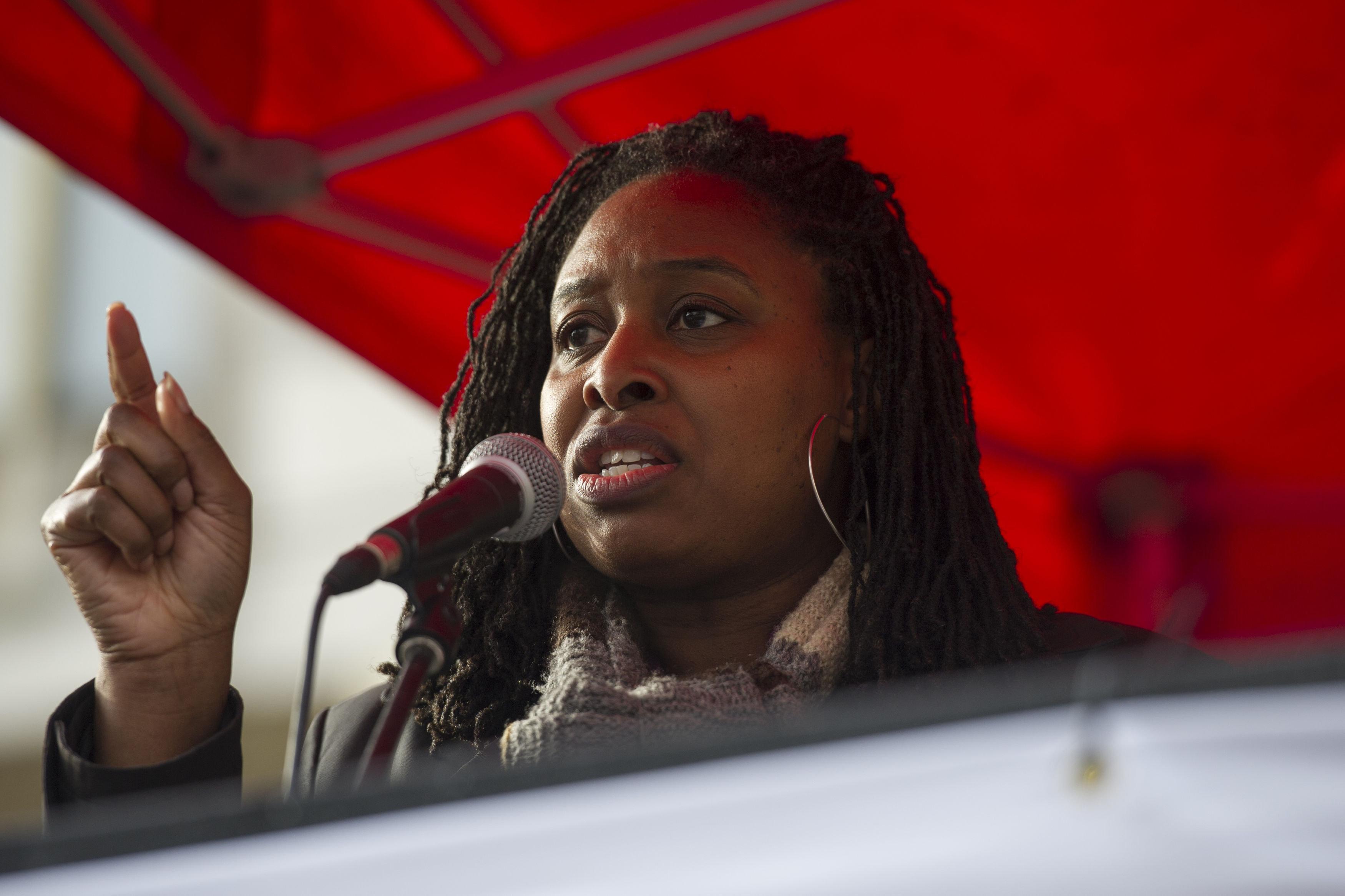 Labour MP Dawn Butler.