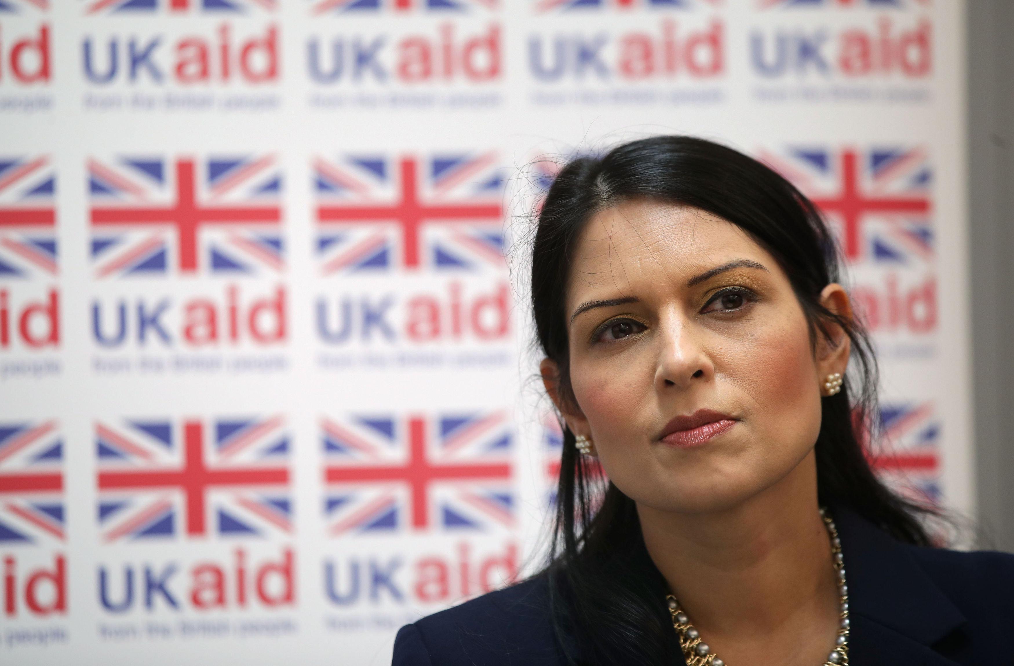 Priti Patel is flying back to the UK amid mounting expectation she will be sacked as International Development Secretary