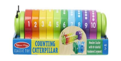 """<a rel=""""nofollow"""" href=""""https://www.shopkids.com/products/melissa_and_doug-wooden-counting-caterpillar"""" target=""""_blank"""">Woode"""