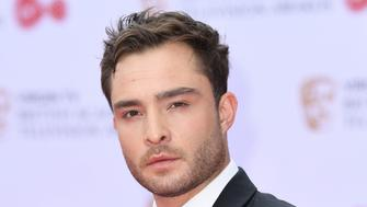 Ed Westwick attending the Virgin TV British Academy (BAFTA) Television Awards held at the Royal Festival Hall, Southbank, London. Photo credit should read: Doug Peters/ EMPICS Entertainment