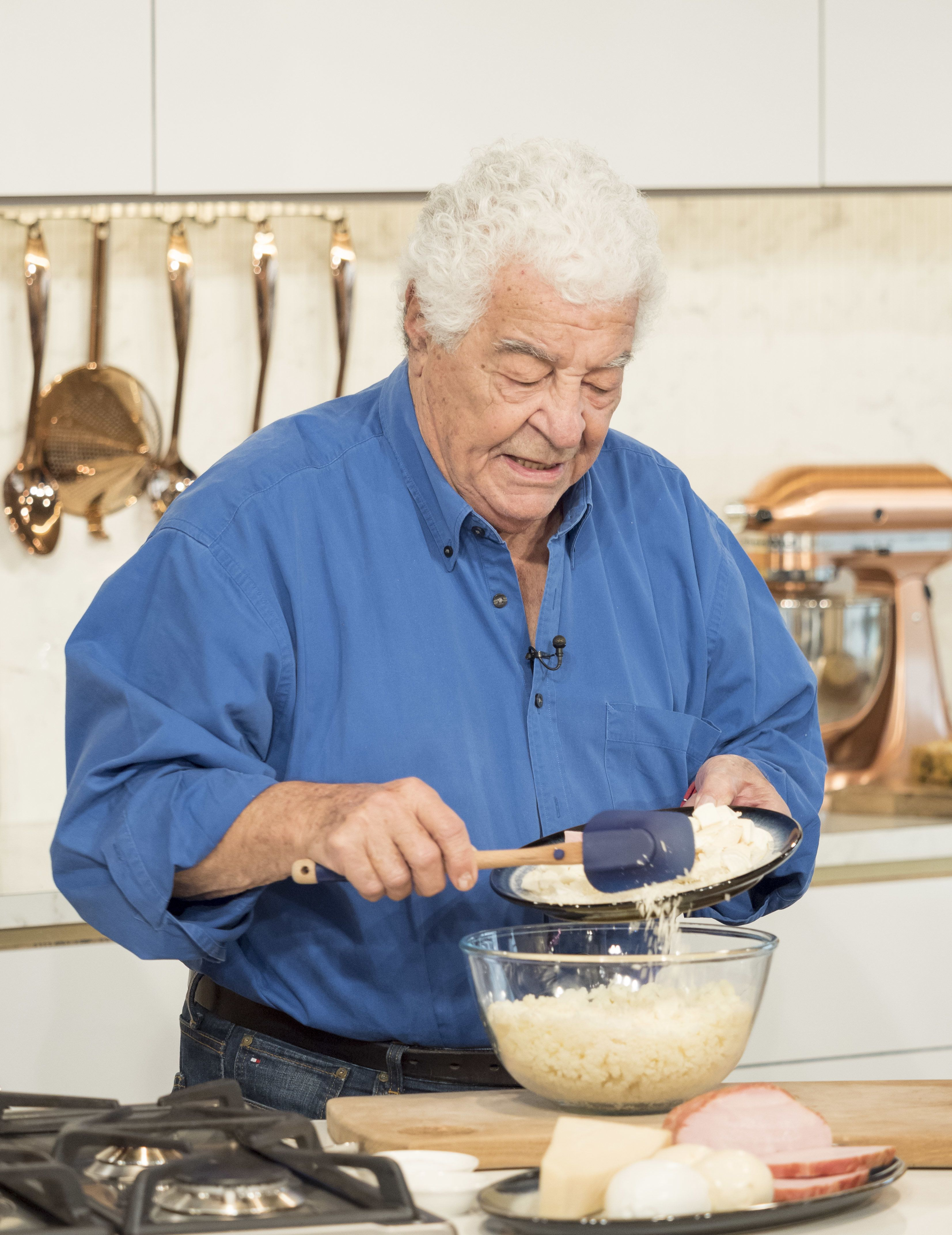 <strong>Antonio Carluccio appearing on This Morning last year&nbsp;</strong>