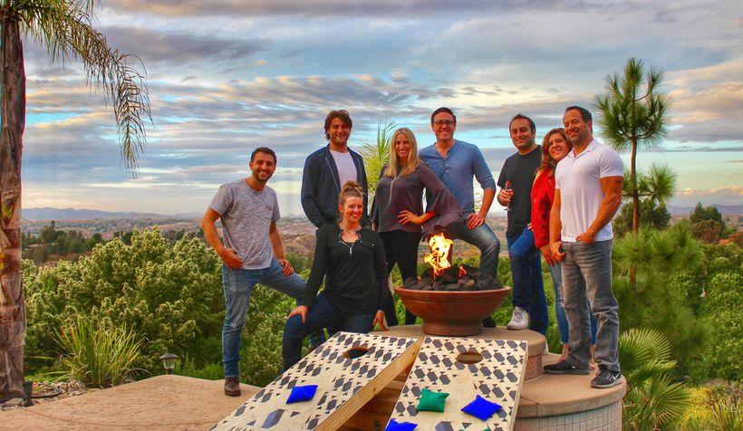 The AvantStay team at a company retreat