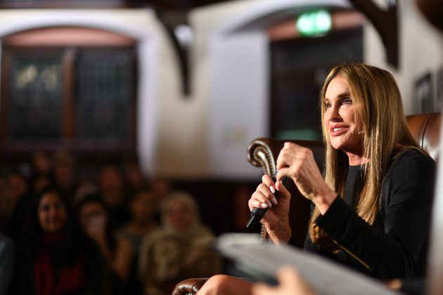 Caitlyn Jenner addresses students at The Cambridge
