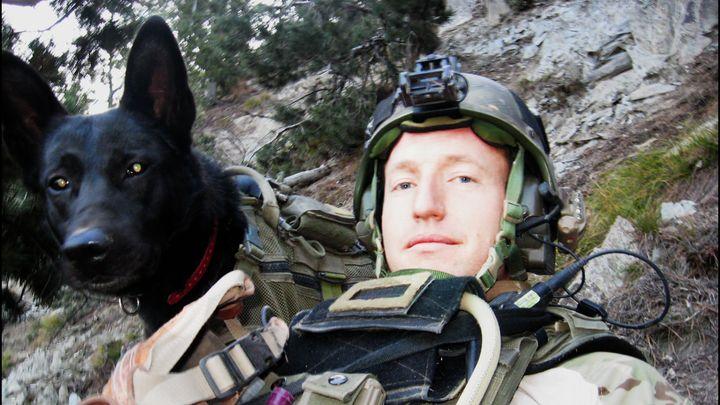 A still from 'War Dog: A Soldier's Best Friend.'