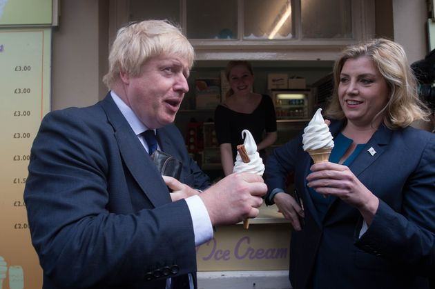Boris Johnson and Penny