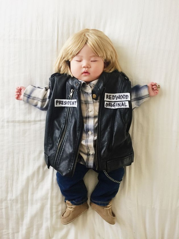 The Adorable Napping Baby Whose Dress-Up Adventures Went Viral Has Her Own Book