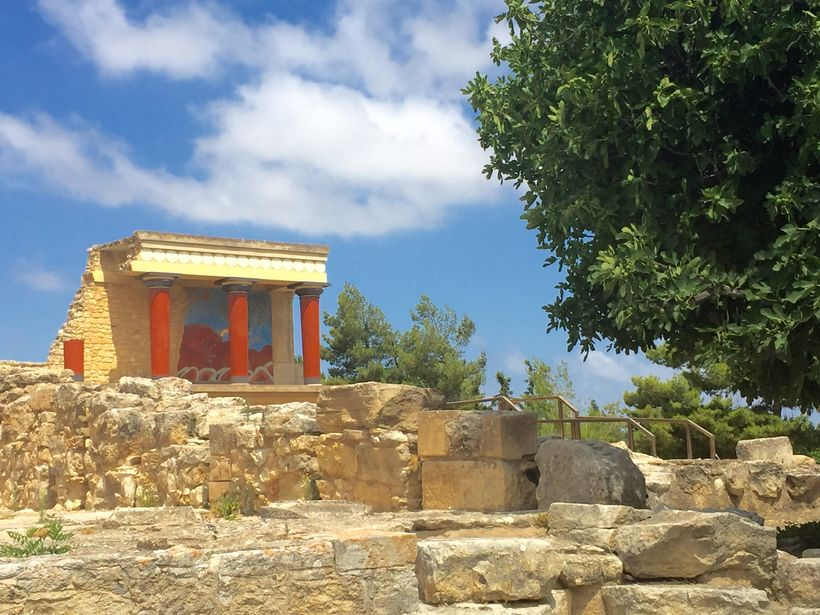 <strong>Knossos Palace&#x2F;Crete</strong>