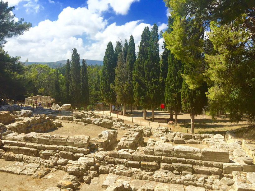 <strong>Knossos Archaeological Site, Crete</strong>