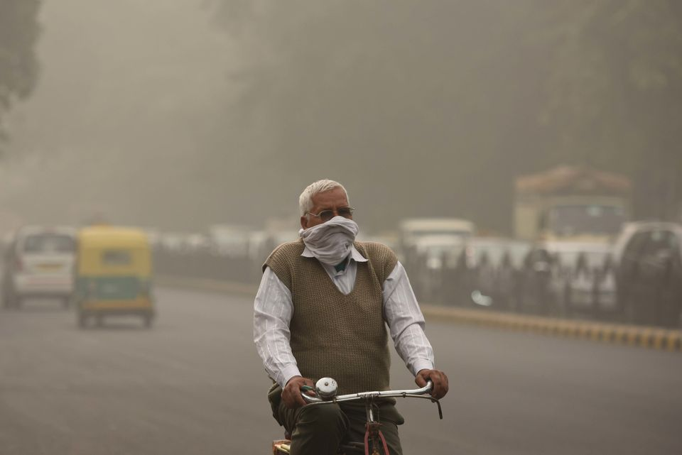 Health Emergency Declared In New Delhi As Toxic Smog Blankets The