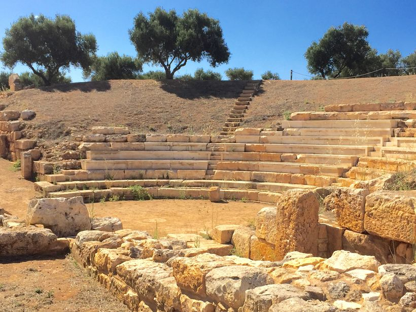 <strong>Ancient Theater At Aptera</strong>