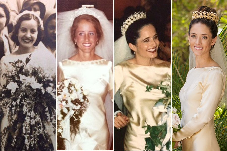 Four Women In One Family Wore The Same Handmade Wedding