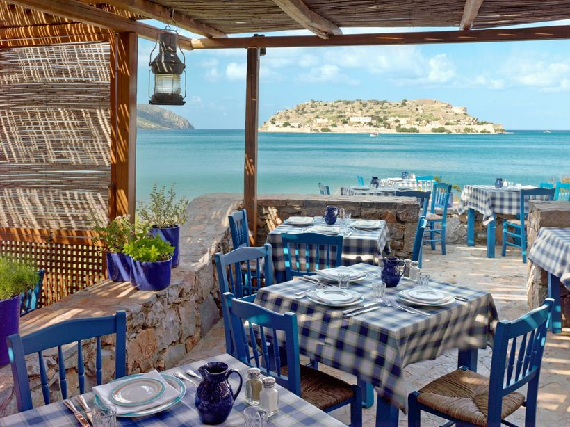 <strong>Blue Door Taverna At Blue Palace</strong>