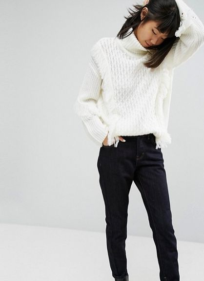 """Get it <a href=""""http://us.asos.com/asos/asos-sweater-in-oversized-with-cable-and-fringe-detail/prd/8375079?clr=cream&cid="""